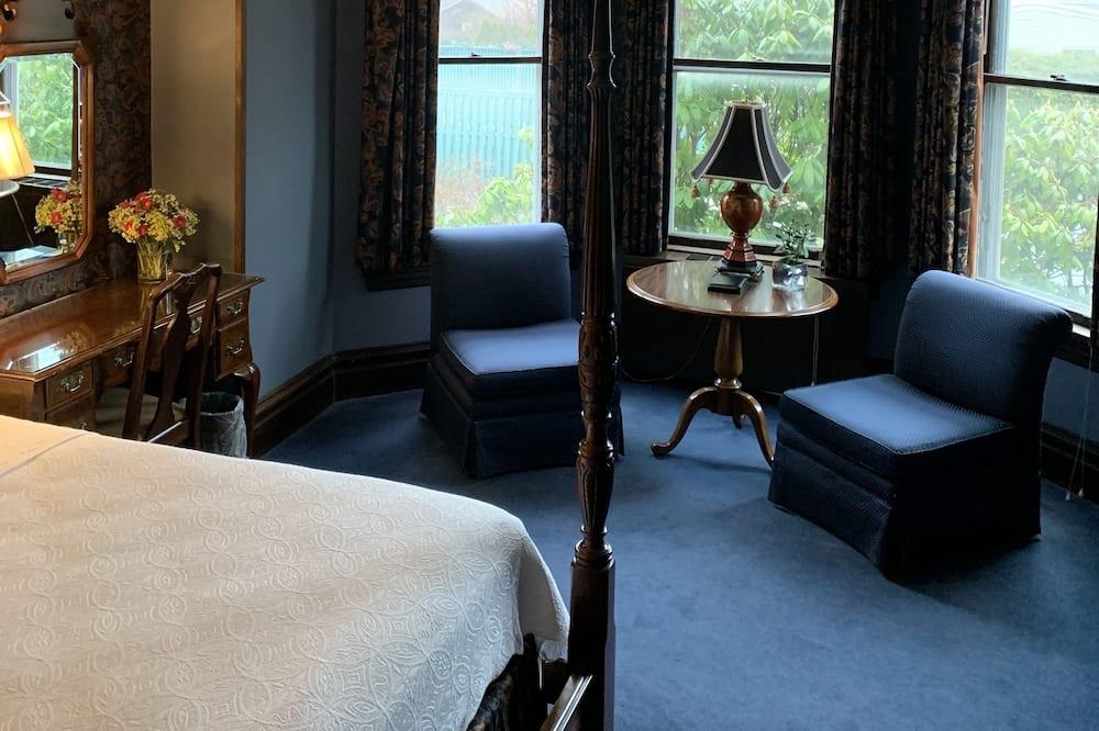 Standaard kamer, 1 slaapkamer, niet-roken (Deluxe Fireplace King) - Woonruimte