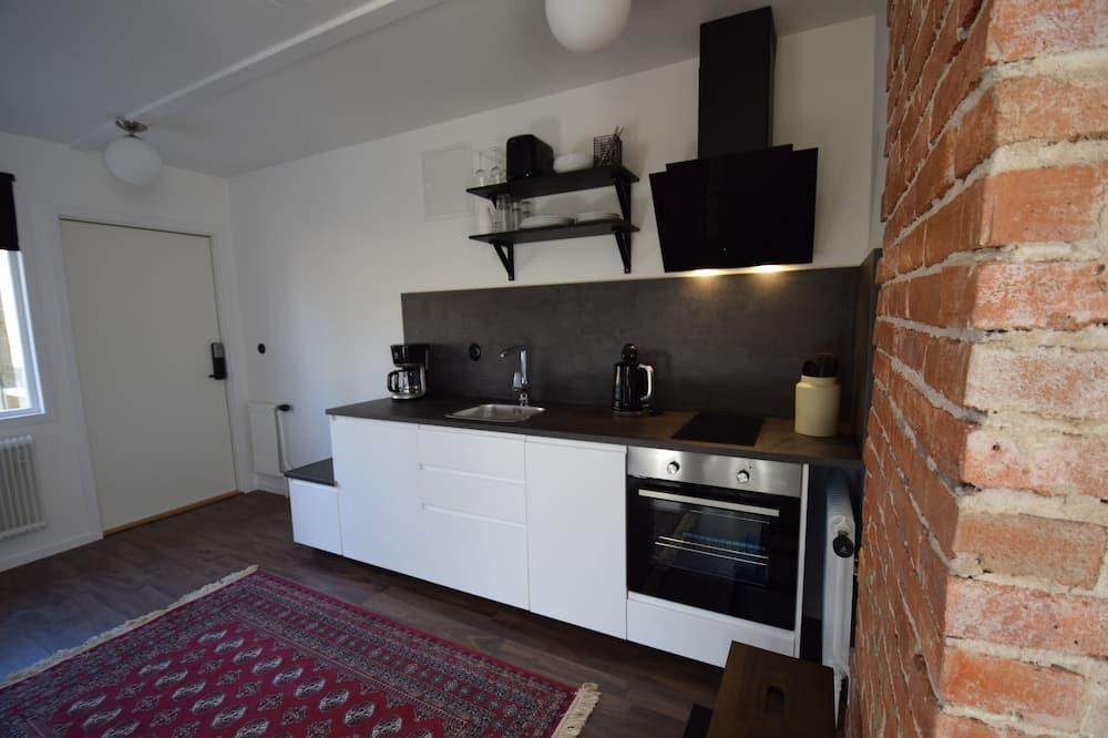 Darījumklases dzīvokļnumurs, viena guļamistaba - Numura ēdamzona