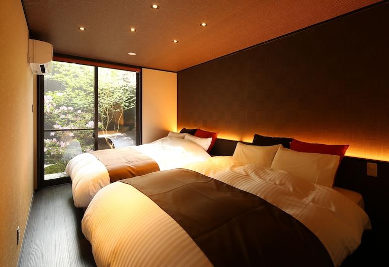 츠무기 토지니시모나마에, Kyoto, 트래디셔널룸, 금연, 욕실 2개 (Deluxe Japanese/Western with Outbath), 객실