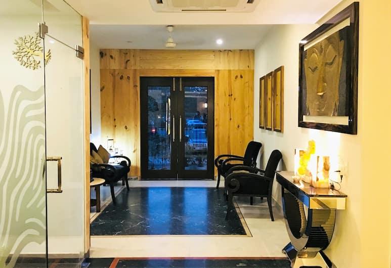 Hotel Imperial Park, Gurugram, Ruang Istirahat di Lobi