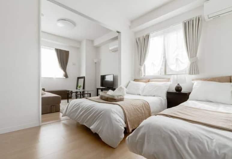 キクズルーム, 大阪市, バルコニー付き 1ベッドルーム コンフォートアパートメント 801, 部屋