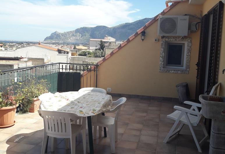 Etnic House Carini, Carini, Apartman, 4 spavaće sobe, Terasa/trijem