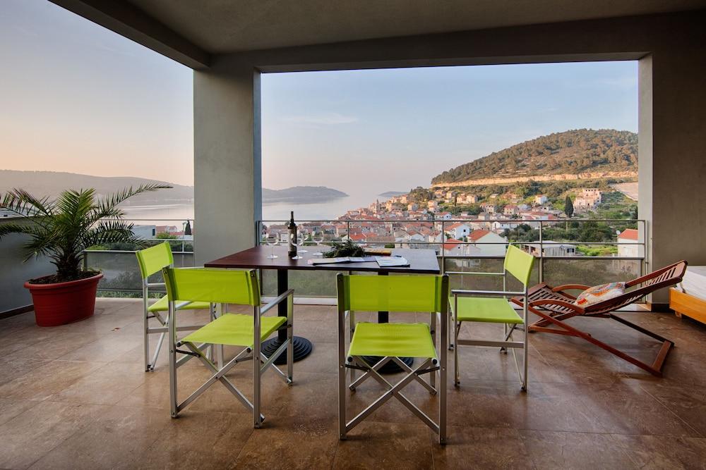 Villa Mara, Vis, Villa Little Mara, Terrasse/veranda