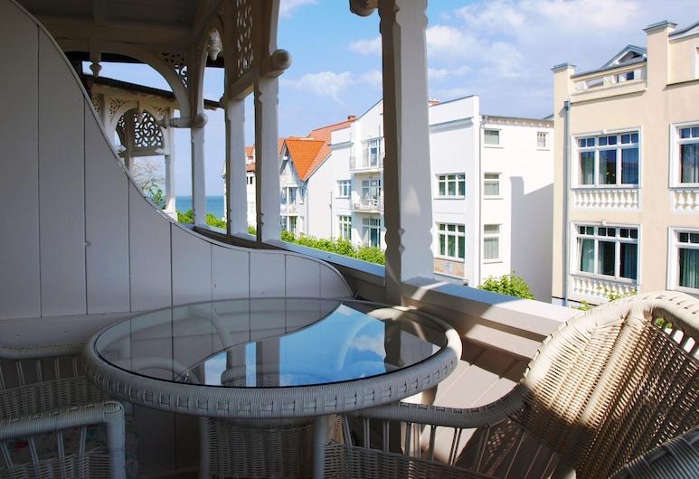 Hotel Villa Meeresgruss, Bincas, Dvivietis kambarys su patogumais, balkonas, Balkonas