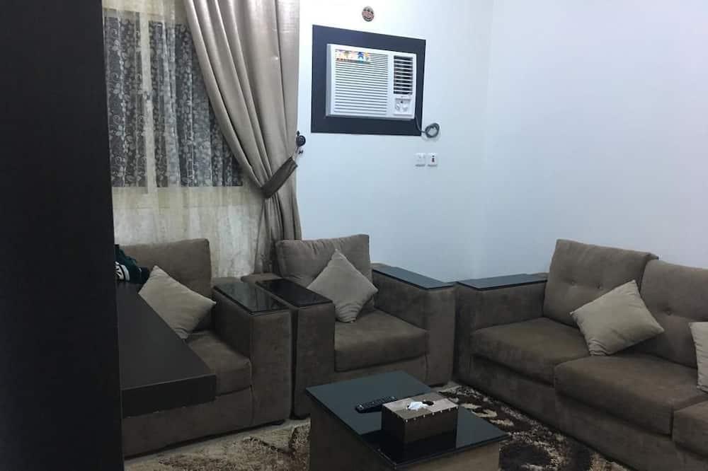 Apartamentai, 2 miegamieji - Svetainė