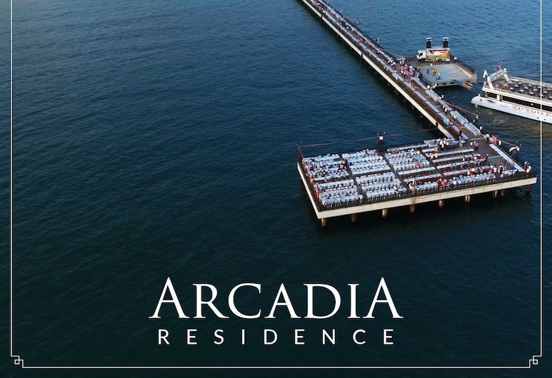 Arcadia Apart Residence, Atakum, Fachada