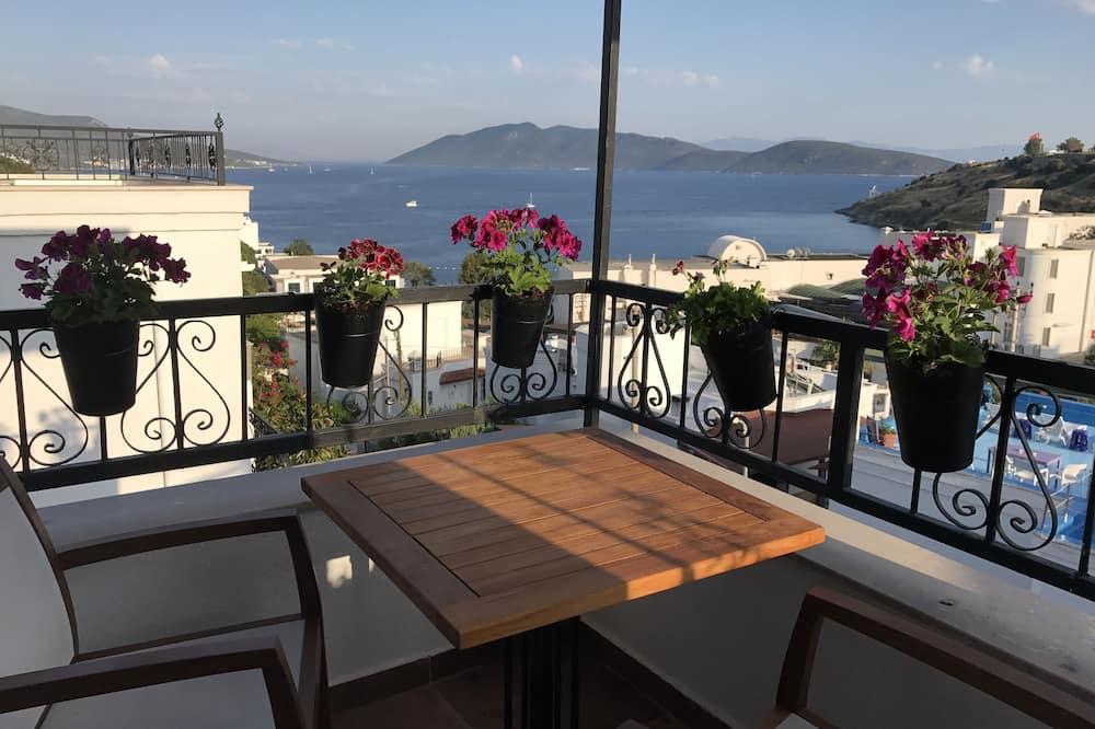 Номер-люкс, з видом на море - Балкон
