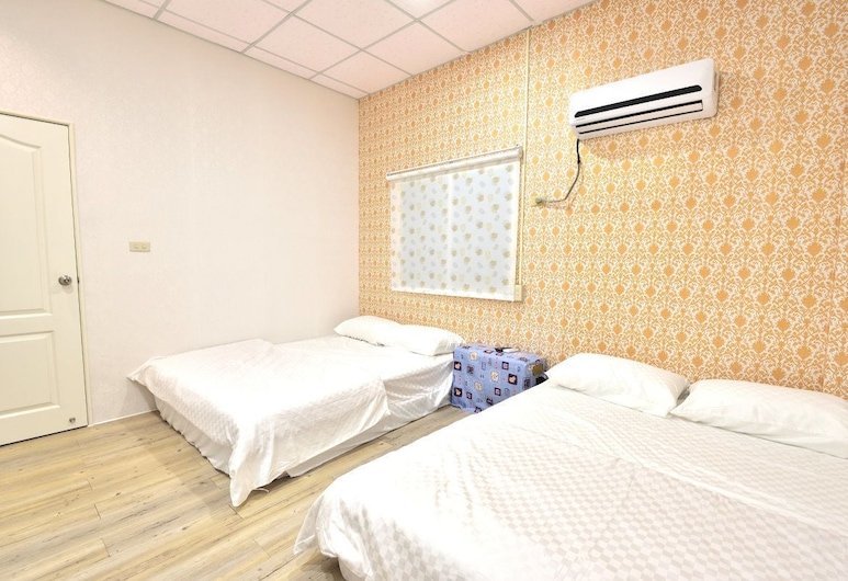 YoYo B&B, Liuqiu, Quadruple Room, Guest Room