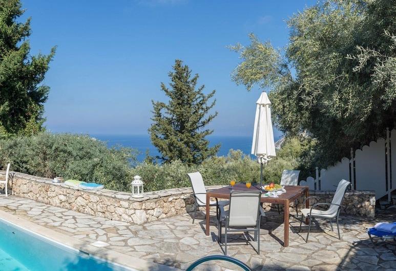Nature Villas, Lefkada, Villa (Isola Bella), Terras