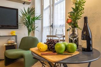 Paris bölgesindeki Marais Studio 2p - AC - Wifi resmi