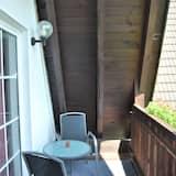 Standard külaliskorter, omaette vannitoaga, vaade aeda (Typ A Balkon 23) - Vaade rõdult
