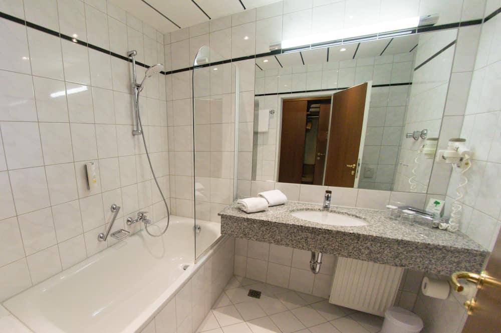 Comfort-dobbeltværelse - Badeværelse