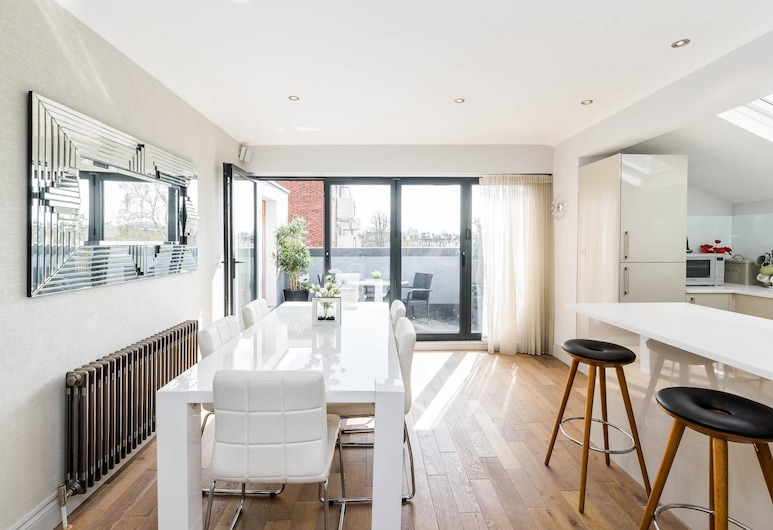 Spectacularly Stylish 2 Bed Flat Heart of Fulham, Londen, Appartement (2 Bedrooms), Woonruimte