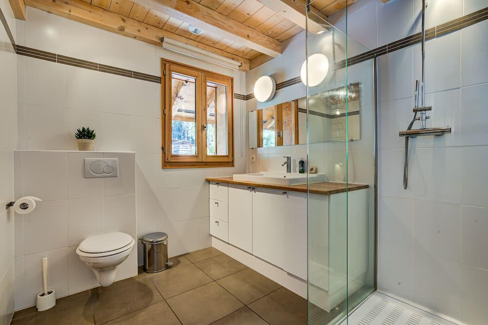 樓中樓客房, 獨立浴室, 山景 (Penthouse) - 浴室