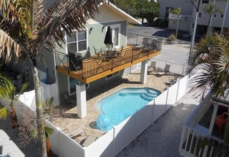 Castnetter Beach Resort 10, Holmes Beach, Aerial View
