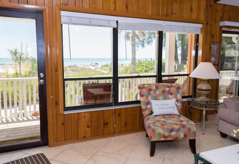 Breakers 3, Holmes Beach, Ferienhaus, 3Schlafzimmer, Küche, Strandnähe, Wohnzimmer