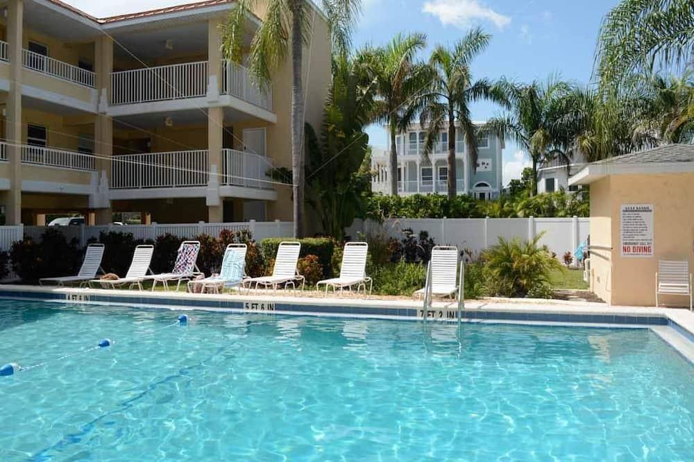 公寓客房, 2 間臥室, 廚房, 海濱 - 室外泳池