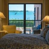 شقة - غرفتا نوم - بمطبخ - على الشاطئ - الغرفة