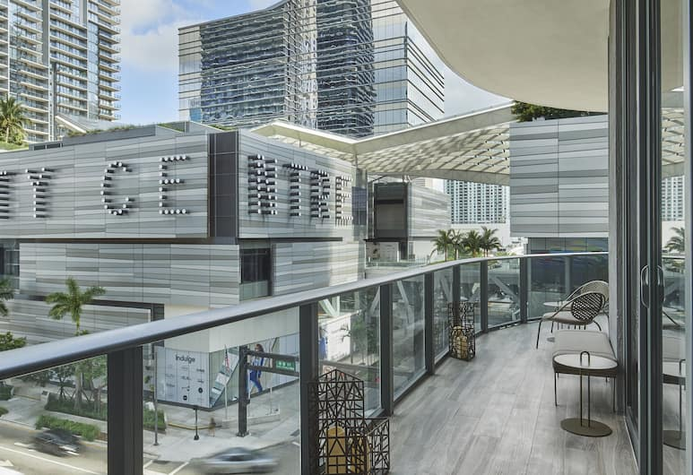 SLS LUX Brickell, Miami, Suite, 2 chambres (SLS LUX), Terrasse/Patio