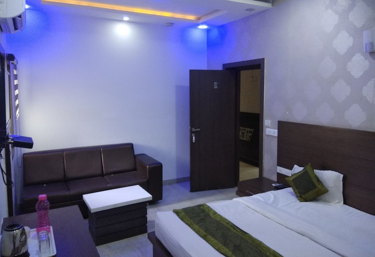 Hotel heaven and Resort, Agra, Rom – deluxe, Gjesterom