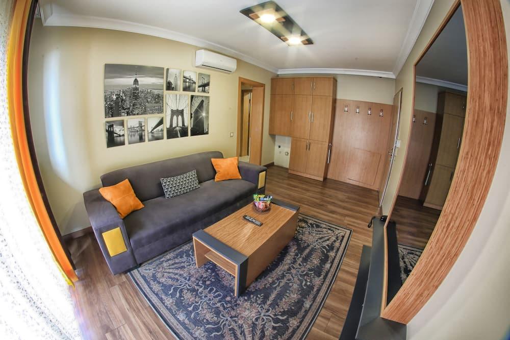 Nhà dành cho gia đình, 1 phòng ngủ - Khu phòng khách