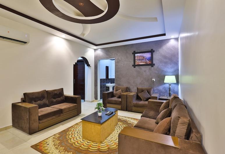 OYO 231 Fawasel Tabuk Hotel Apartment, Ταμπούκ, Διαμέρισμα, 2 Υπνοδωμάτια, Περιοχή καθιστικού