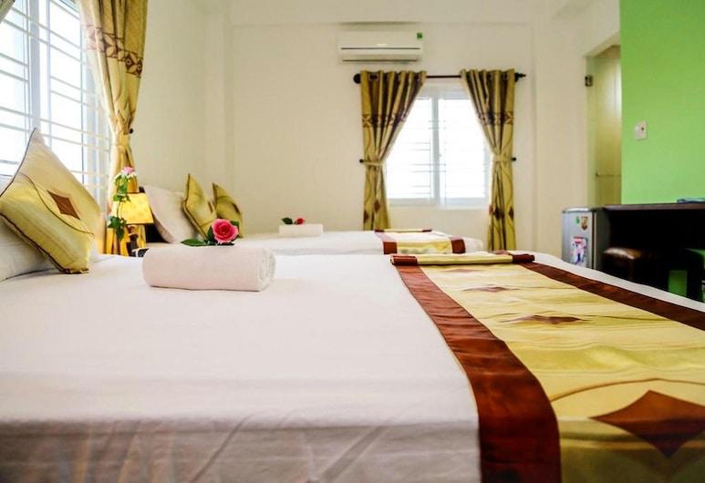 小黃金飯店, 峴港, 高級三人房, 客房