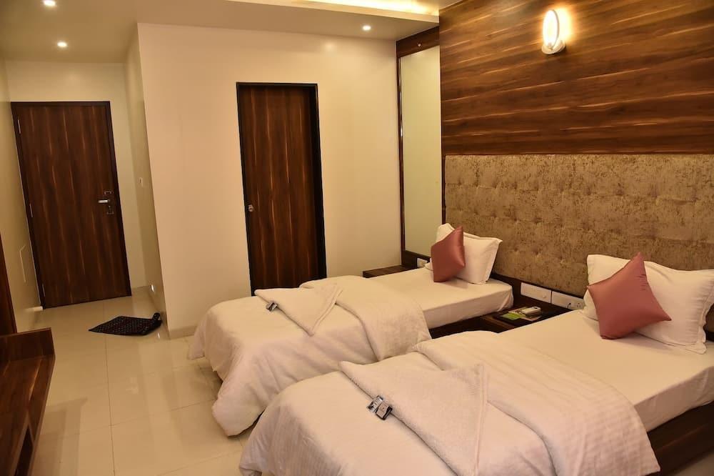 Pokój z 2 pojedynczymi łóżkami typu Deluxe - Salon
