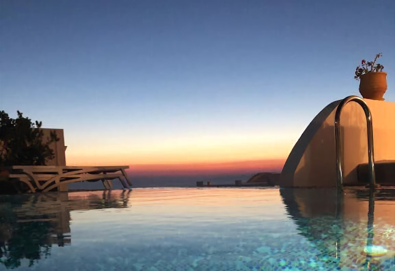 The Nook, Santorini, Clay Villa with Private Pool, Outdoor Pool