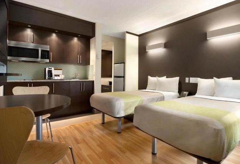 Quality Inn & Suites Kansas City Downtown, Kansas City, Double Room Single Use, Guest Room
