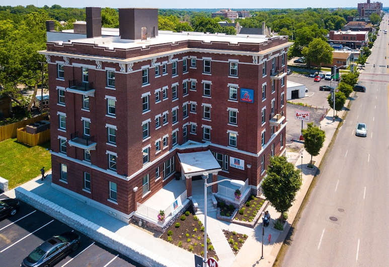 Quality Inn & Suites Kansas City Downtown, Kansas City, Hotellfasad