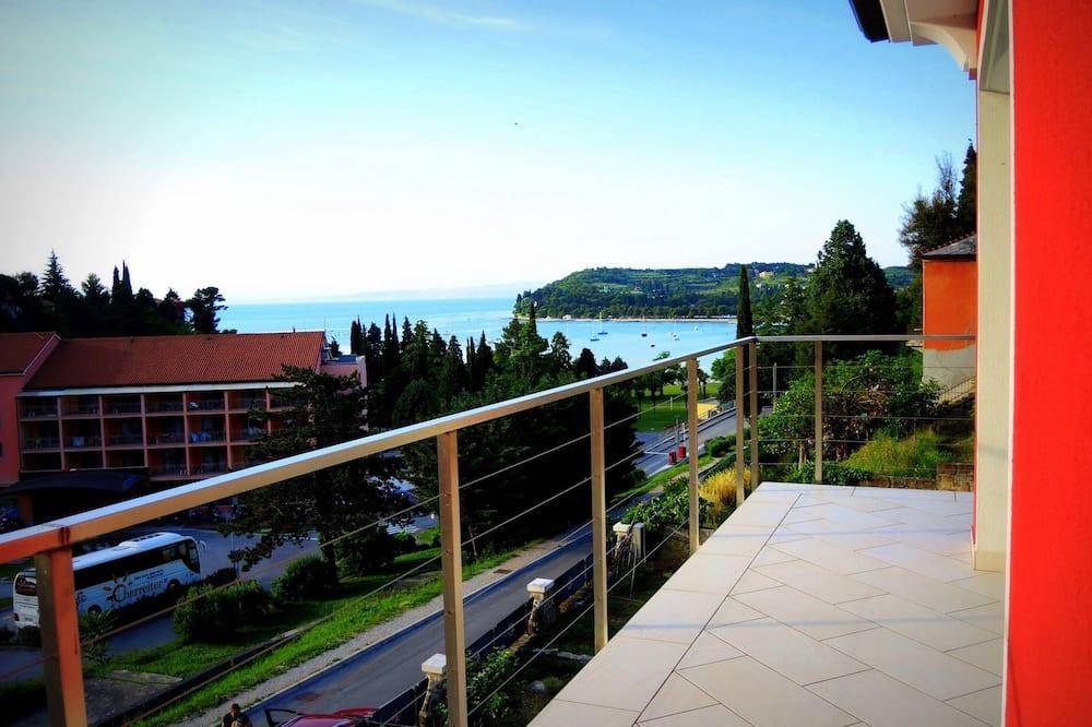 Apartamento, 3 habitaciones, vistas al mar (Penthouse) - Balcón