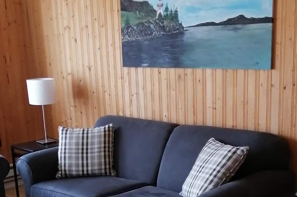 Cabaña estándar, 1 habitación, accesible para personas con discapacidad, planta baja - Sala de estar