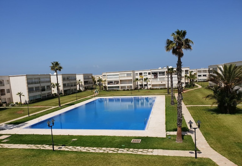 Ola Blanca Sidi Rahal Apartment, Sidi Rahal, Außenpool