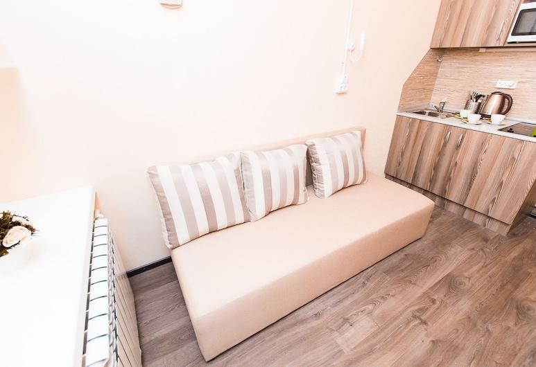 Residence on Gorkovskaya, St. Petersburg, Family Quadruple Room, 1 Double Bed with Sofa bed, Room