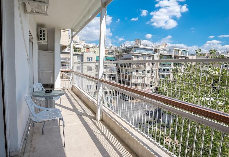Athens Park Palace Apartments, Atenas, Apartamento luxo, 5 quartos, Vista para o jardim, Varanda