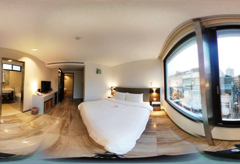 Greatt Hotel, Taipei, Deluxe tweepersoonskamer, Uitzicht vanaf kamer