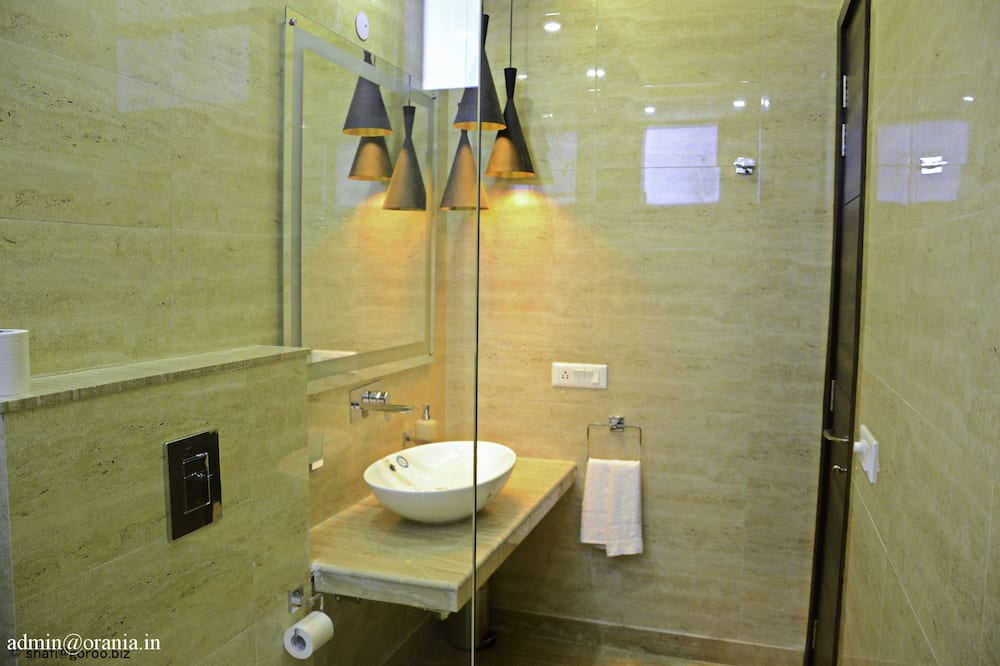 Superior dubbelrum eller tvåbäddsrum - Badrum