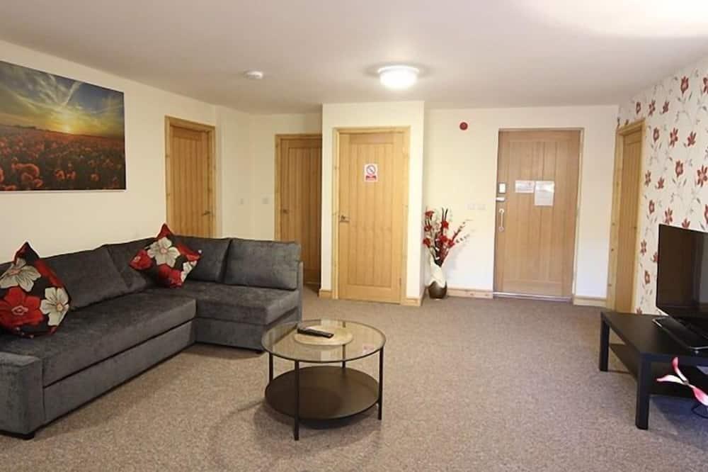 Apartment, eigenes Bad - Wohnzimmer