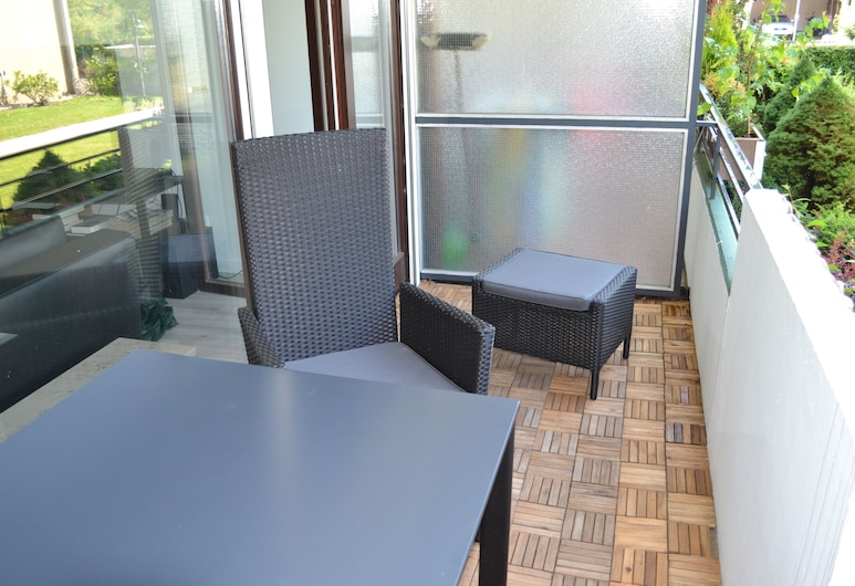 1-room Studio in Mod. Design With Swimming Pool / Sauna, Timmendorfer Strand, Balcony