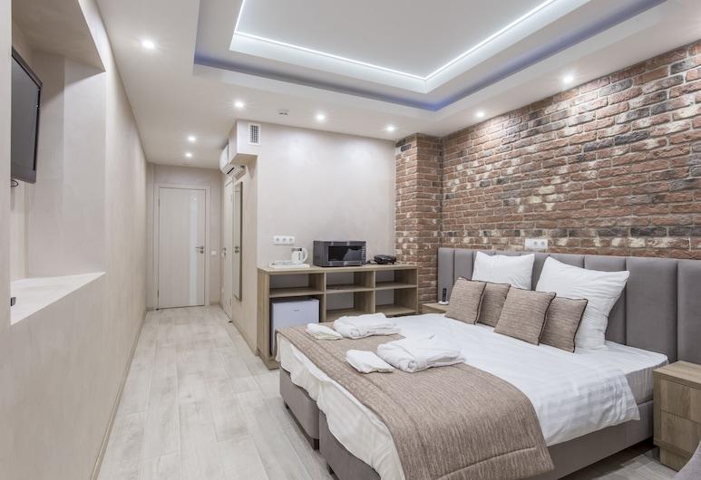 Гранд Марк, Санкт-Петербург, Семейные апартаменты, 2 спальни, мини-кухня, Номер