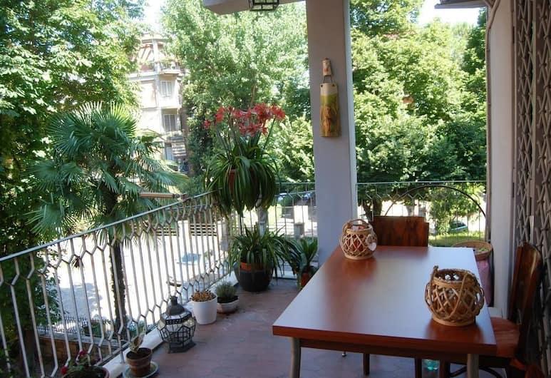La Badia del Cavaliere, Rom, Terrasse/patio