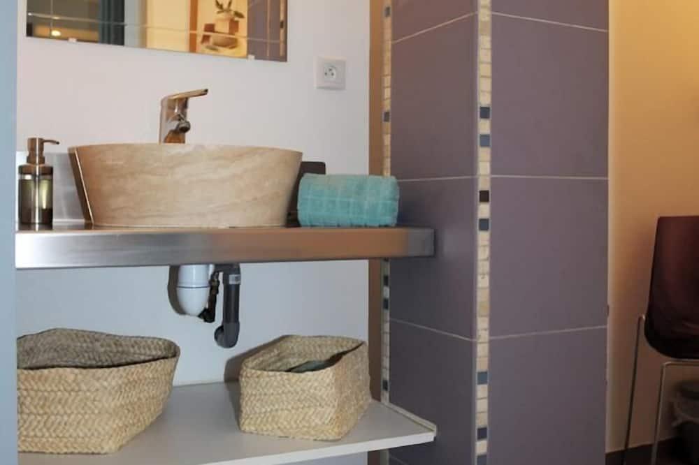 高級套房, 私人浴室, 泳池景觀 (La Pomme de Pin) - 浴室