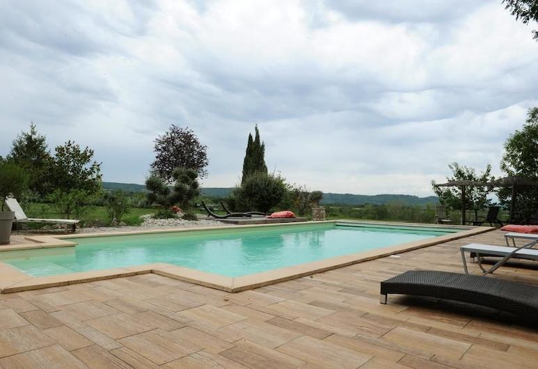 欧赫杜波伊斯小屋酒店, 奥斯坦, 室外游泳池
