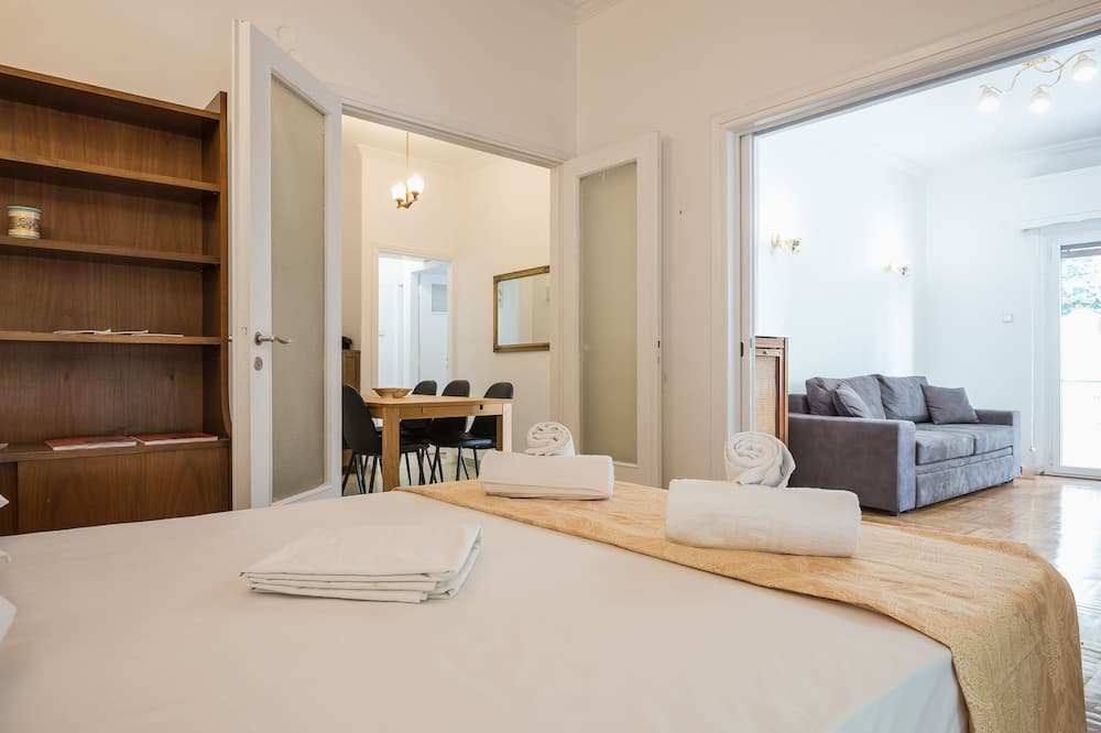 Íbúð (Victoria Best Apartments near metro) - Herbergi