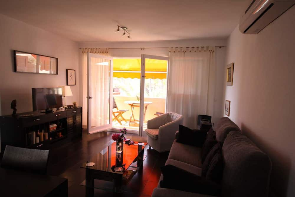 Apartemen Comfort, 1 kamar tidur - Ruang Keluarga