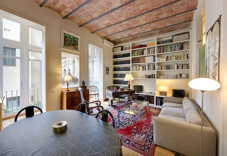 Habitat Apartments La Bohème, Barcelona, Lägenhet - 2 sovrum, Vardagsrum