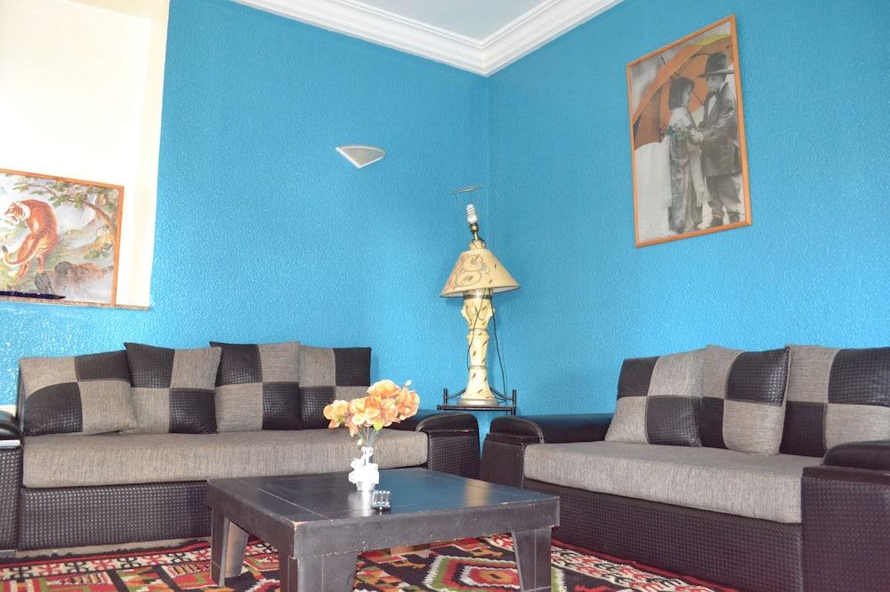 Comfort-Apartment, 2Schlafzimmer, Meerblick - Wohnbereich