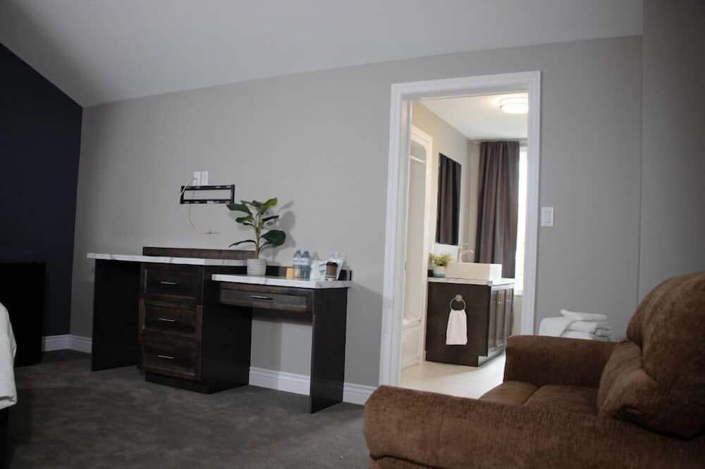 Apartament podstawowy typu Suite, Łóżko queen i sofa, dla niepalących, widok na ocean - Powierzchnia mieszkalna