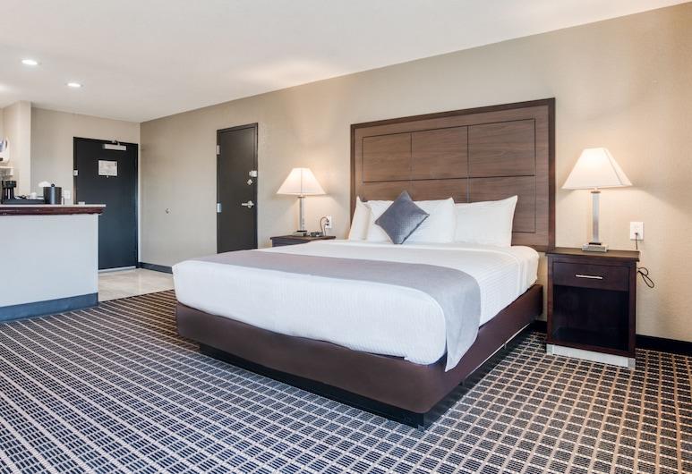 Alexis Hotel & Banquets Dallas Park Central Galleria, Dallas, Junior suite, Kamer